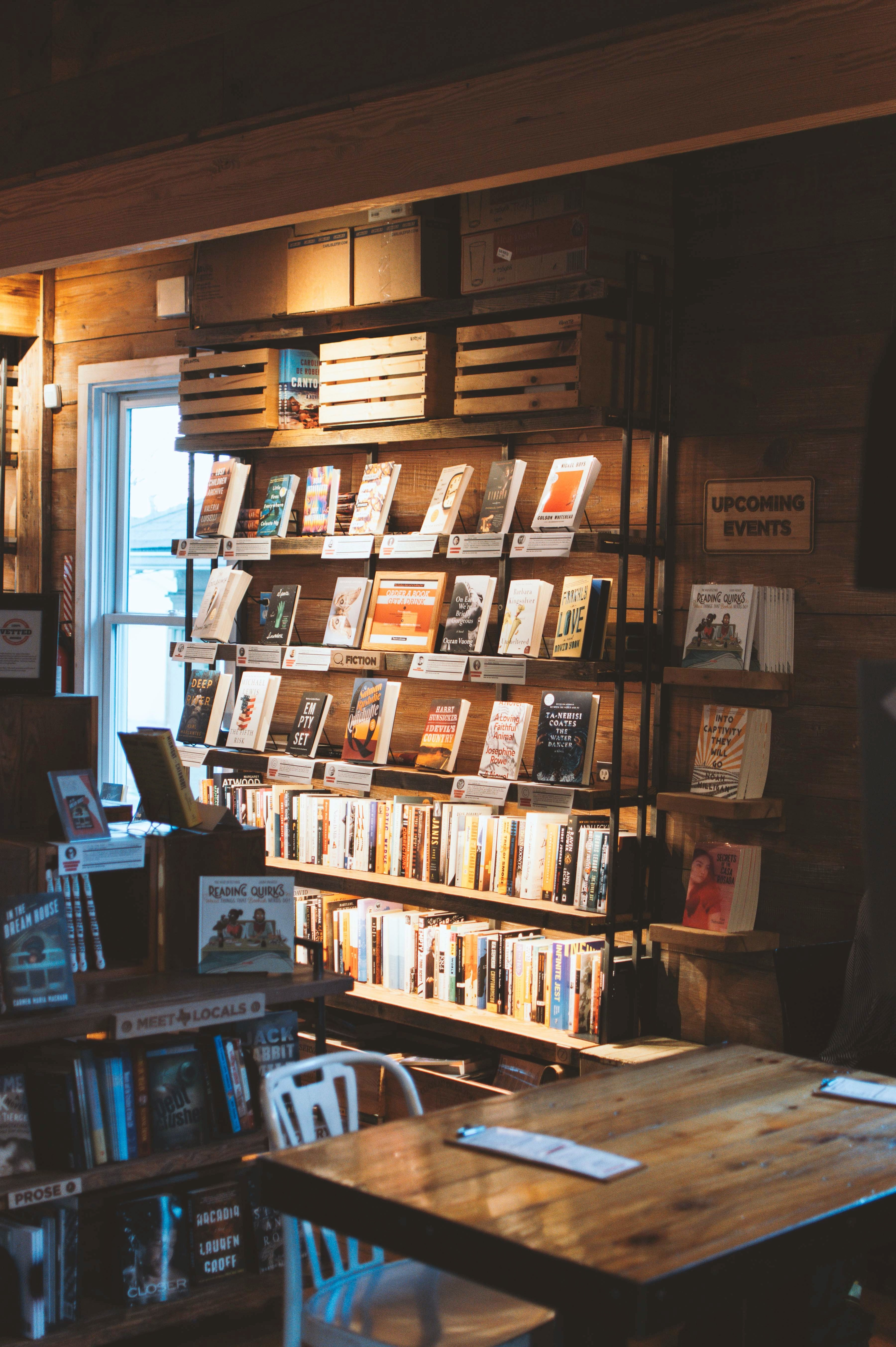 How Time Stops in Bookshops